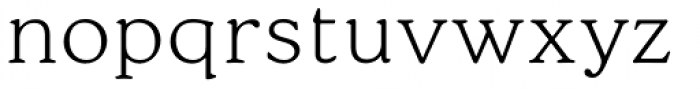 Cream Light Font LOWERCASE