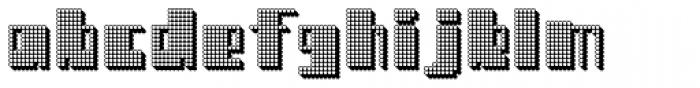Cream Rock Font LOWERCASE