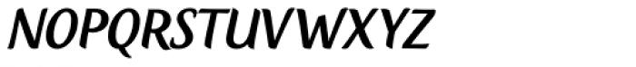 Creamy Script Font UPPERCASE