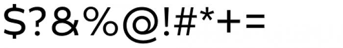 Creata Regular Font OTHER CHARS
