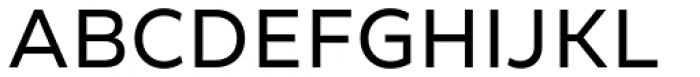 Creata Regular Font UPPERCASE