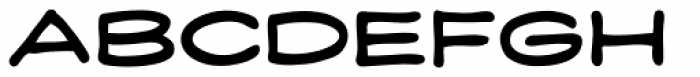 Credit Extension Rounded Font UPPERCASE