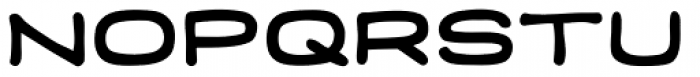 Credit Extension Squared Font UPPERCASE