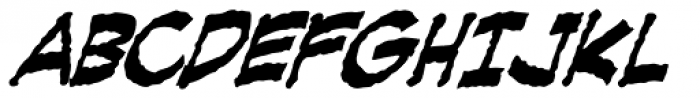 Creeping Evil Bold Font UPPERCASE
