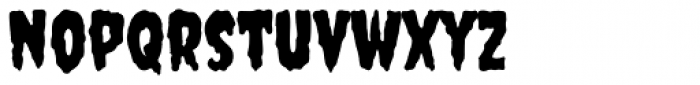 Creepster Pro Font LOWERCASE