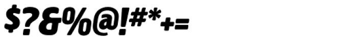 Creighton Pro Black Italic Font OTHER CHARS