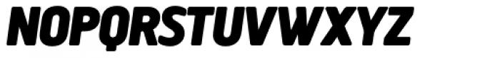 Creighton Pro Black Italic Font UPPERCASE