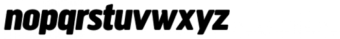 Creighton Pro Black Italic Font LOWERCASE