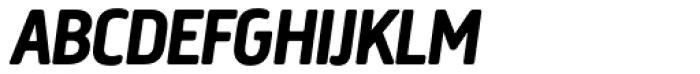 Creighton Pro Bold Italic Font UPPERCASE