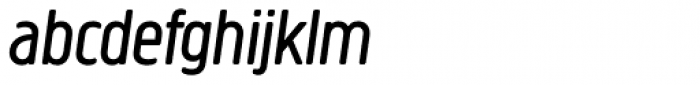 Creighton Pro Book Italic Font LOWERCASE