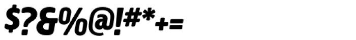 Creighton Pro ExtraBold Italic Font OTHER CHARS