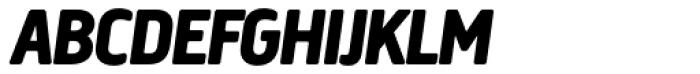 Creighton Pro ExtraBold Italic Font UPPERCASE