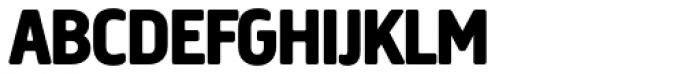 Creighton Pro ExtraBold Font UPPERCASE