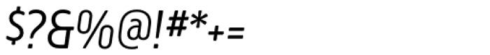 Creighton Pro Light Italic Font OTHER CHARS