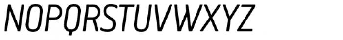 Creighton Pro Light Italic Font UPPERCASE