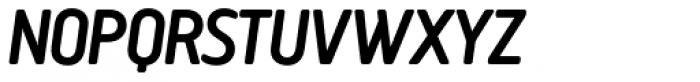 Creighton Pro Medium Italic Font UPPERCASE