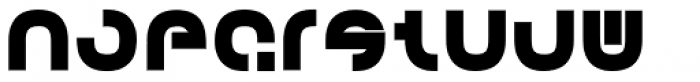 Creion Bold Font UPPERCASE