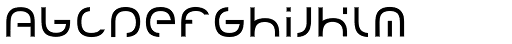 Creion Light Font LOWERCASE