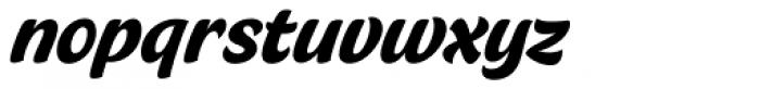 Crema Piano Font LOWERCASE