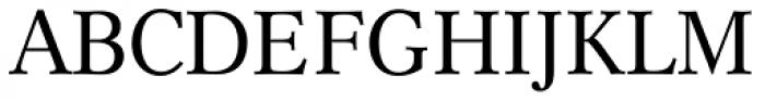 Cremona BQ Regular Font UPPERCASE