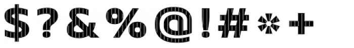 Crepes Big Stripe2 Font OTHER CHARS