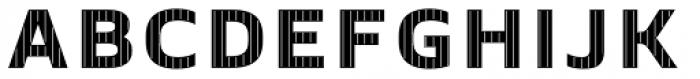 Crepes Big Stripe2 Font UPPERCASE