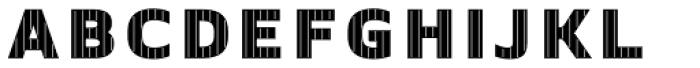 Crepes Big Stripe2 Font LOWERCASE