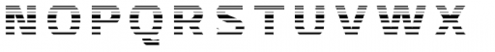 Crepes Stripe4 Font LOWERCASE