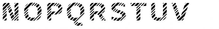 Crepes Stripe6 Font UPPERCASE
