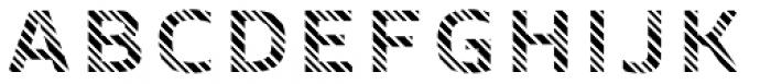 Crepes Stripe8 Font UPPERCASE