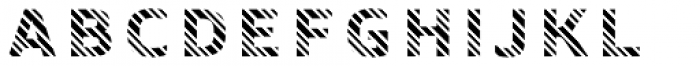 Crepes Stripe8 Font LOWERCASE