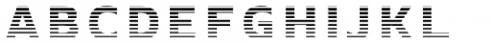 Crepes Stripe9 Font LOWERCASE