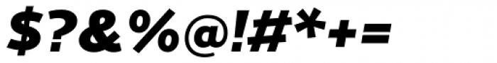 Cresta Black Italic Font OTHER CHARS