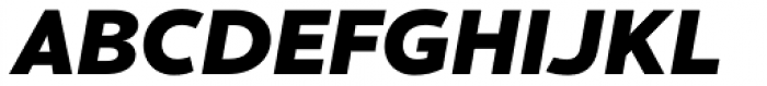 Cresta Black Italic Font UPPERCASE
