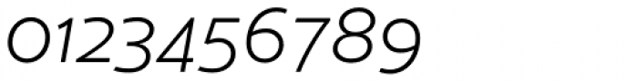 Cresta Light Italic Font OTHER CHARS