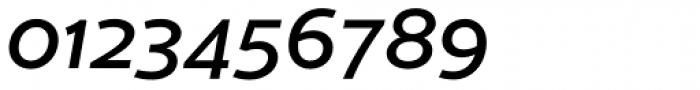 Cresta Medium Italic Font OTHER CHARS