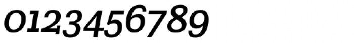 Crete Thick Italic Font OTHER CHARS