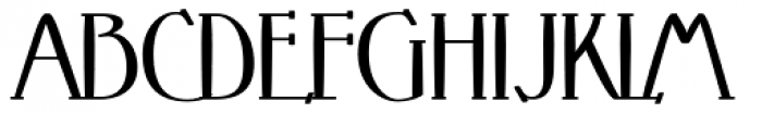 Crewekerne Magna Bold Font UPPERCASE