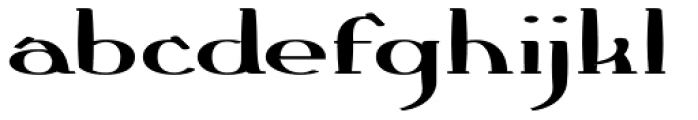 Crewekerne Magna Expanded Heavy Font LOWERCASE
