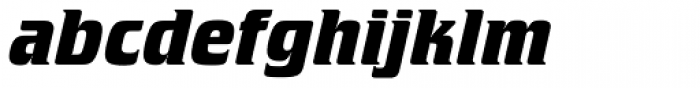Crillee SB Bold Italic Font LOWERCASE