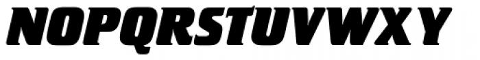 Crillee SB ExtraBold Italic Font UPPERCASE