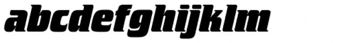 Crillee SB ExtraBold Italic Font LOWERCASE