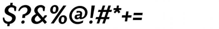 Crimsons Bold Italic Font OTHER CHARS