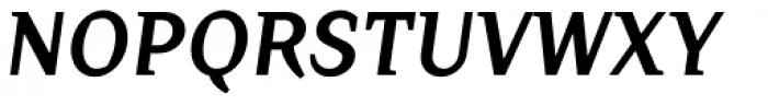 Crimsons Bold Italic Font UPPERCASE
