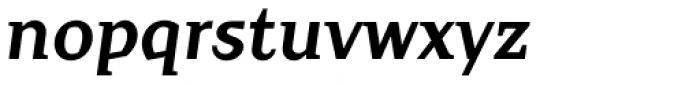 Crimsons Bold Italic Font LOWERCASE