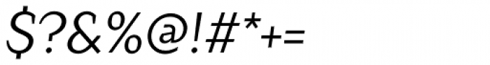 Crimsons Italic Font OTHER CHARS