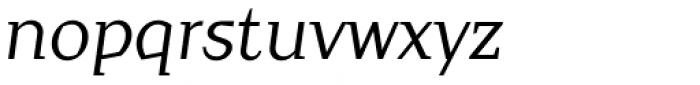 Crimsons Italic Font LOWERCASE
