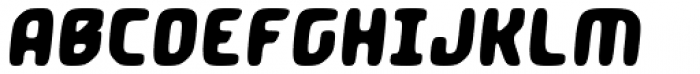 Crimstone Hand Italic Font UPPERCASE