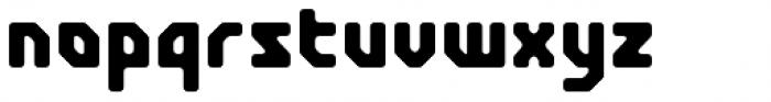 Crimstone Rounded Font LOWERCASE