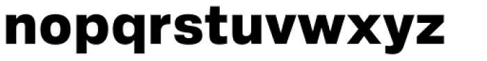 Crique Grotesk Display Heavy Font LOWERCASE
